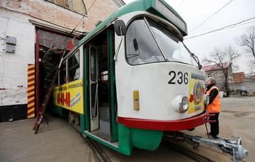 Trams in Vladikavkaz, Russia